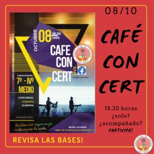CAFÉ CONCERT 2021